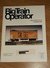 BIG TRAIN OPERATOR MAGAZINE  NO. 70  SUMMER 1994