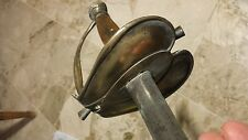 ORIGINAL ANTIQUE FRENCH SWORD 18th CENTUR 1789 RÉVOLUTION WITH PHRYGIAN CAP