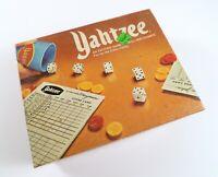 Vintage Yahtzee Dice Game 1975, E.S. Lowe/Milton Bradley, Nice Condition!
