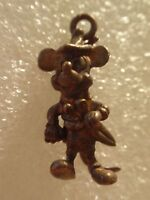 VINTAGE DISNEY MICKEY MOUSE AS WIZARD W SCISSORS MOUSEKETEER PENDENT CHARM RARE!