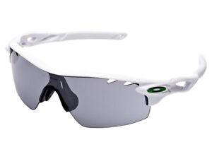 Oakley RadarLock Pitch Sunglasses OO9207-02 Polished White/Slate Iridium Asian