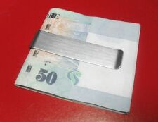 Solid Stainless Steel Big Currency Cash Money Clip I