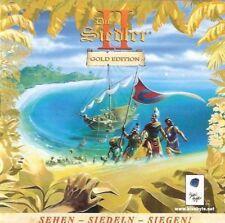 Siedler 2 Gold Edition PC Version in CD Hülle deutsche Version