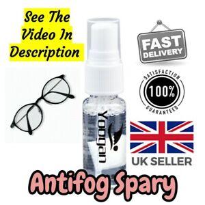 Anti fog Eyeglass Lens Defogger Swim Goggles cleaner Anti Mist Cleaner SEE VIDEO