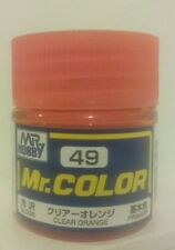 Gunze Sangyo Mr Color acrylic paint C-49, Clear Orange