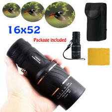16x52 Optical Telescope ZoomDay Night Vision HD Monocular Hunting Camping Hiking