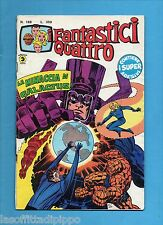 SUPER EROI - I FANTASTICI QUATTRO-CORNO-N.188- 19 GIUGNO 1978 -NO RESA+ADESIVI