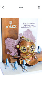 Authentic Rolex Helmet/ Store Display/Submariner 5513