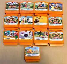 13 Vtech V.Smile V.Motion,Smart Book Learning System Game Cartridges Thomas Dora