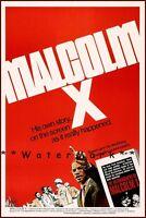 Malcolm X 1972 Film Movie Vintage Poster Print Art Retro Style Movie History
