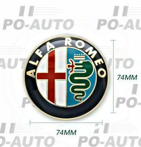 Badge Embleme Logo Avant Arrière Alfa Romeo GIULIETTA MITO 147 156 159 146