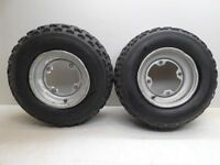 """1999 Yamaha Blaster YFS200 YFS 200 Front Rims and Tires 21X7X10"""""""
