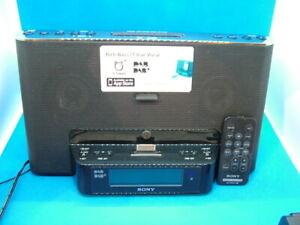 Sony Radio Alarm - Personal Audio Docking Station. Model: XDR-DS16iP. DAB/DAB+