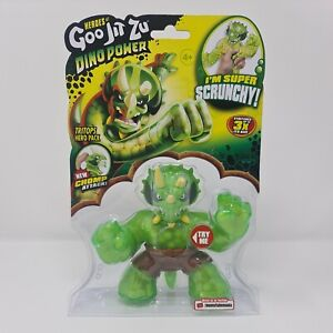 Heroes of Goo Jit Zu Dino Power Tritops Free Postage