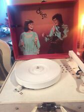 Htf* Vtg 1970's Donny And Marie Osmond Record Player By Osbro Productions