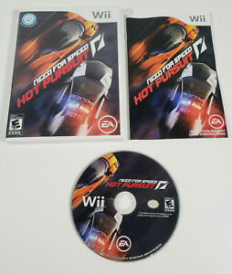 Need for Speed: Hot Pursuit (Nintendo Wii, 2010) - Complete w/ Manual, Tested