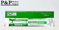 Disposable Scalpel Sterile # 10 Plastic Handle by P&P Medical Surgical Box of 10
