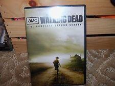 The Walking Dead: The Complete Second Season (DVD, 2012, 4-Disc Set) EUC