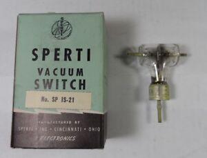 Collins ART-13 NEW Original Sperti  CYS 24163 / SP IS-21 HV Vacuum Switch