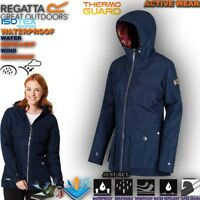 Regatta Jacket Women Lady Bechette Waterproof Breathable Work Padded Hoodie Coat