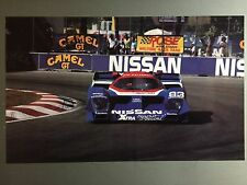 1990 Nissan GTP Race Car Print, Picture, Poster RARE!! Awesome L@@K