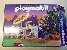 "Playmobil Rosa Serie Set 5326 ""Gartenset mit Grill""   gebraucht/selten"