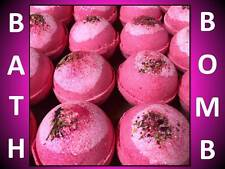 10 PACK!! LARGE 4.5 OZ BOMBSHELL BATH BOMB FIZZY HOT PINK CRAZY LUSH LOVE SPELL