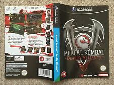 COVER inserire solo Mortal KOMBAT DEADLY ALLIANCE-GameCube BOX copertina solo