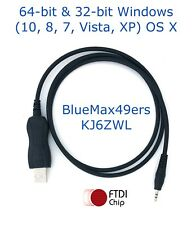 FTDI USB Data Communications Icom IC-2820H IC-80AD IC-E80D OPC-2218