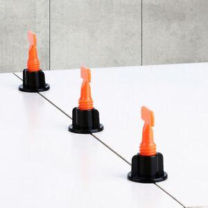 126pcs Ceramic Floor Wall Construction Tool Reusable Tile Leveling System Kit