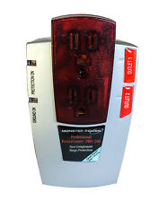 Monster PRO 200 Professional PowerCenter Surge Protector 2 Outlets - 1110 Joules