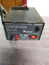 Samlex Regulated DC Power Supply, RPS1207, 7-10 Amps, 13.8 volts             I
