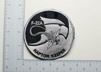 U.S. Air Force F-22A Raptor Keeper Patch