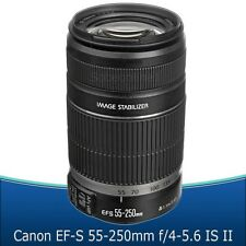 Canon EF-S 55-250mm f/4-5.6 IS II Objektiv für Canon DSLR Kamera-White Box-NEU!