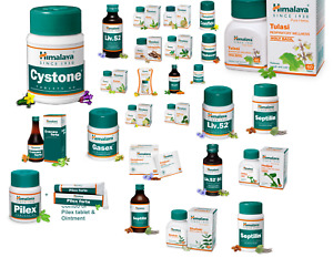 Himalaya Wellness Pure Herbs All Tablets Capsules and Syrup Free Shipping
