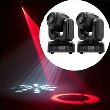 1Pair Rgbw Spot Gobo Led Stage Lights Moving Head Dmx Disco Dj Party Lighting