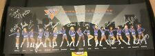 2008-09 New York Knicks City Dancers Signed 7.5X22 Photo/Poster NBA Basketball