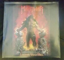 MANOWAR LP VINYL VERY RARE LOUDER THAN HELL 1996 ORIGINAL