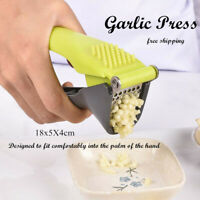 Garlic Press Ginger Presser Crusher Chopper Peeler Cutter Mincer Stainless tool