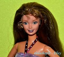 Light Brown Hair Pivotal Posable Articulated Jointed Barbie Doll Superstar