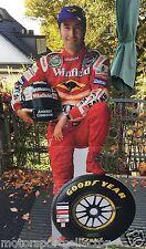Original Goodyear Pappaufsteller 1998 - HEINZ HARALD FRENTZEN Williams Formel 1