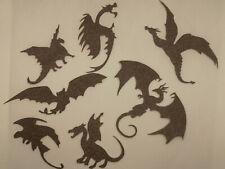 10 Game Of Thrones decor dragon Paper Wall Decal Mother of Dragons Fantasy decor
