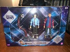 Doctor Who series five action figure set