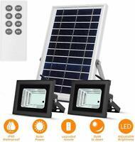 Luces Solares Impermeables con Paneles Solares Led Iluminación Solar Exterior