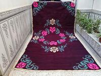 Moroccan Handmade Vintage Azilal Rug Berber Tribal Rug Wool Carpet 6.06 x 10.66