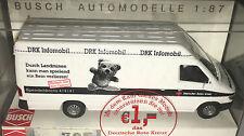 """BUSCH 47825 - Mercedes-Benz Sprinter """"DRK Infomobil"""", H0 1:87, neu + OVP"""
