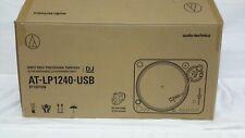 Audio-Technica AT-LP1240-USB XP Direct-Drive Professional DJ Turntable/ READ