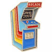 Retro Video Game Arcade enamel pin 80s Lapel Pin Bag Hat Fun Gift Gamer