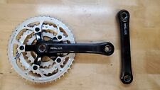 Vintage Mountain Bike Shimano DEORE LX 175 MM 46/36/26 Crankset FC-M563