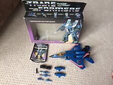 Transformers G1 Thundercracker - Complete with Box - Hasbro, Vintage